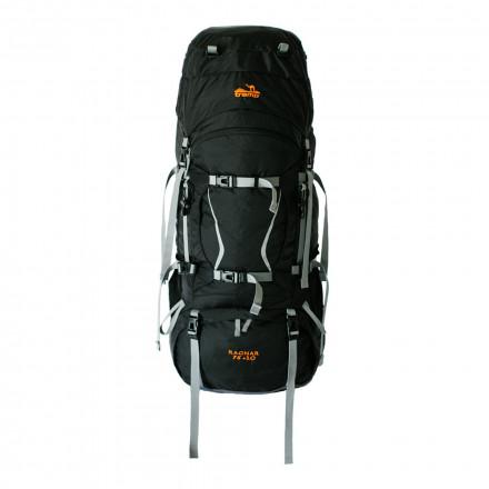 Рюкзак туристический Tramp Ragnar 75+10 (черный)