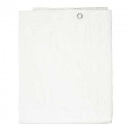 Тент универсальный терпаулинговый Kraft 2х3 м (белый)