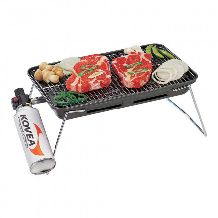 Гриль газовый Kovea Slim Gas Barbecue Grill (TKG-9608T)