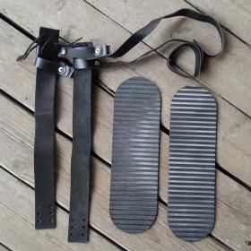 Крепления мягкие для охотничьих лыж (кожа)