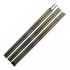 Комплект стальных стоек для палатки, шатра или тента (16х1650 мм, 2 шт.)