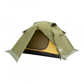 Палатка экспедиционная Tramp Peak 2 V2 Green