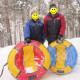 Санки-ватрушка Globus Water & Snow (80 см)