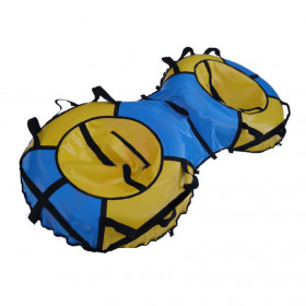 Санки-ватрушка Спарта Лайт Двойная (2х100 см)