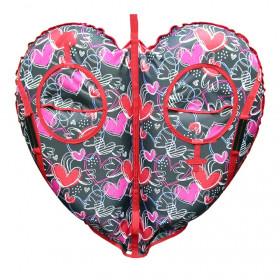 Санки-ватрушка (тюбинг) Yukon Сердце (105 см)